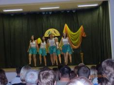 Taneční vystoupení...