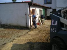 Výstavba skladu