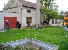 Máj - stavění 2008