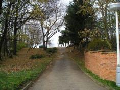 Oprava hřbitova 2008