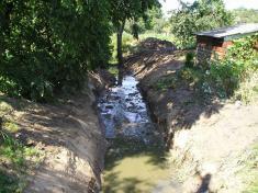 Revitalizace potoka 2008