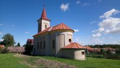 Oprava střechy kaple sv. Františka z Assisi