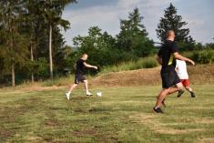 Kácení Máje - Fotbal ženatí vs. svobodní