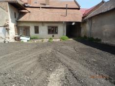 Demolice za čp.13 - výstavba parkoviště