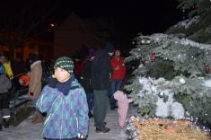 Rozsvícení vánočnícho stromu a dílničky